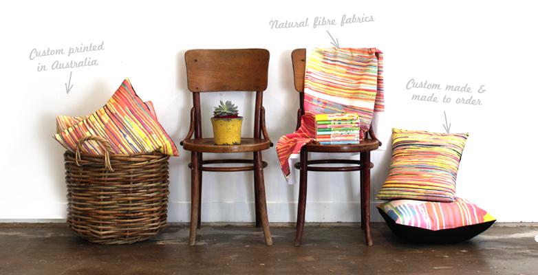 Frankie and Swiss | Custom Fabric Printing | Melbourne